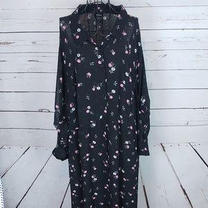 Torrid Floral Duster/Dress Plus Size 30